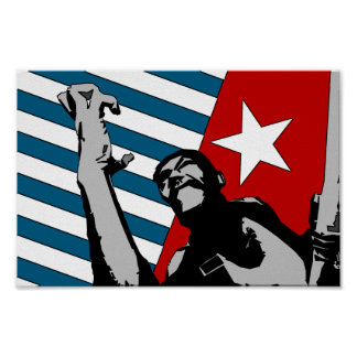 Free West Papua Poster