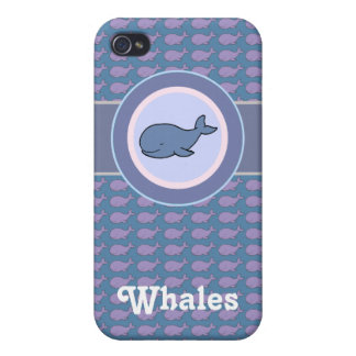 free whales iPhone 4/4S covers