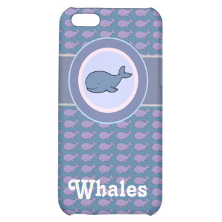 free whales iPhone 5C case