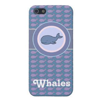 free whales iPhone 5/5S covers