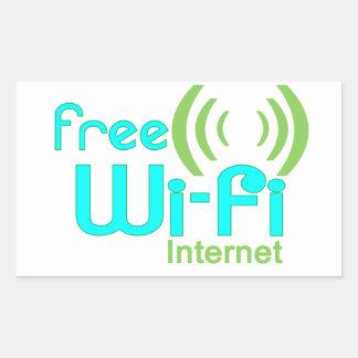 Free Wi-Fi Internet Access Window Sticker
