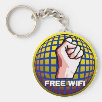 Free WiFi Keychain