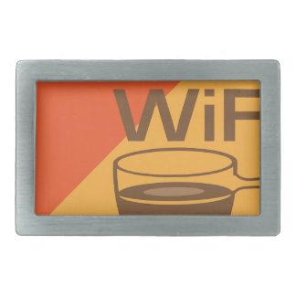 Free Wifi Sign Belt Buckle