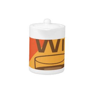 Free Wifi Sign Teapot