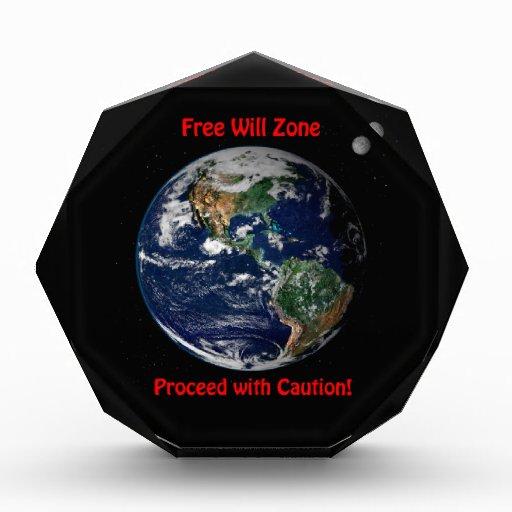 Free Will Zone Award