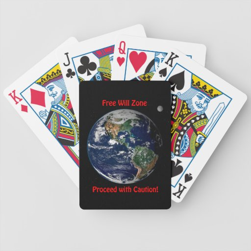 Free Will Zone Bicycle Playing Cards