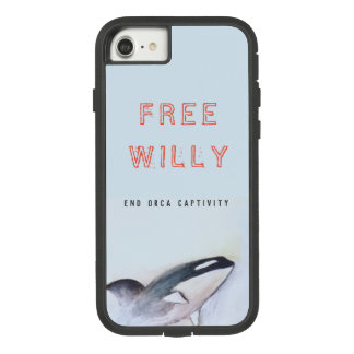 Free Willy Killer Whale cell case