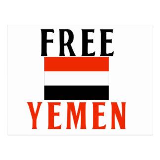 Free Yemen Postcard