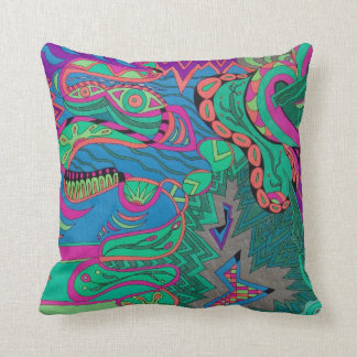 Free Your Dragon Pillow