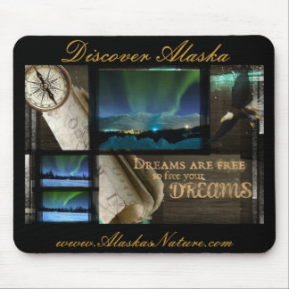 Free Your Dreams Aurora Mouse Pad