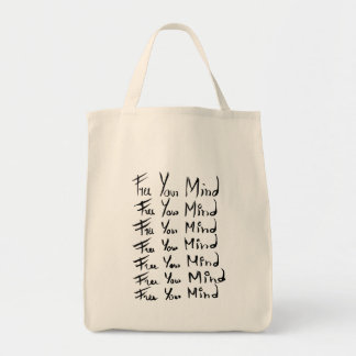 FREE your MIND! Grocery Tote Bag