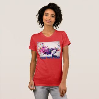 Free Your Mind Butterflies Abstract T-Shirt