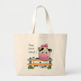 Free Your Mind - Cow Tote Bags