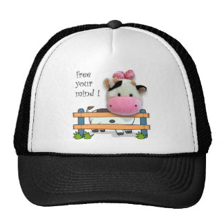Free Your Mind - Cow Trucker Hat