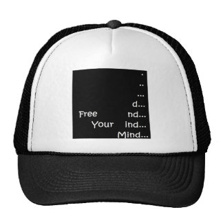 Free your mind do what you love trucker hat
