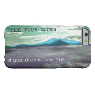 Free Your Mind Inspirational Quote iPhone 6 Cover Barely There iPhone 6 Case