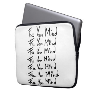 FREE your MIND! Laptop Computer Sleeves