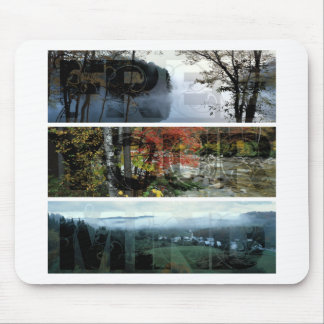 Free Your Mind Panoramic Scenery - Explore Worlds Mouse Pad