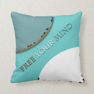 free your mind pillow