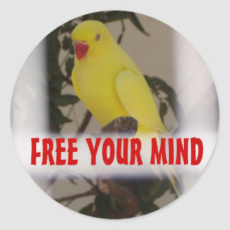FREE YOUR MIND stickers