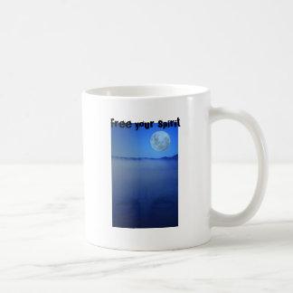 Free your spirit coffee mug