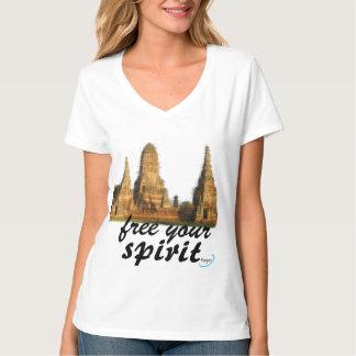 free your spirit tshirt remeras