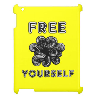"""Free Yourself"" 631 Art iPad Case"