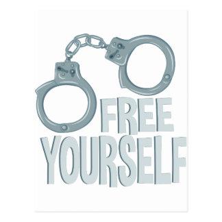 Free Yourself Postcard