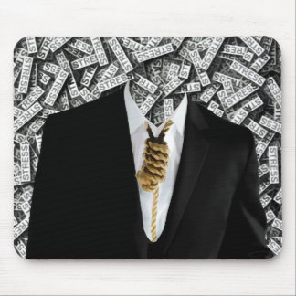 Free Yourself Tuxedo With Rope On Neck Mouse Pad