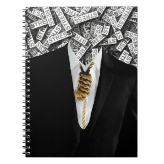 Free Yourself Tuxedo With Rope On Neck Notebook