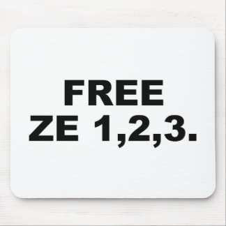 FREE ZE123 MOUSE PAD