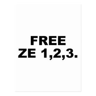 FREE ZE123 POSTCARD