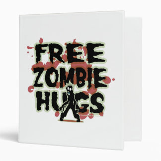 Free Zombie Hugs 3 Ring Binder