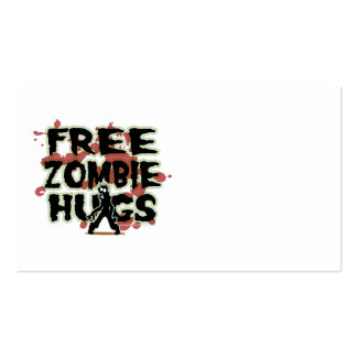 Free Zombie Hugs Business Cards