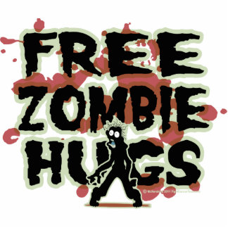 Free Zombie Hugs Cut Outs