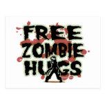 Free Zombie Hugs Postcard