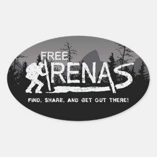 FreeArenas.com Sticker