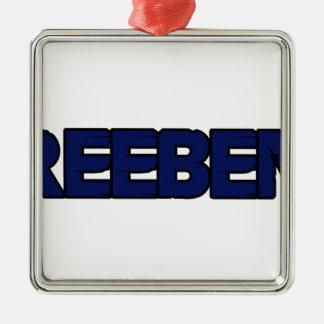 Freebenz T shirt Metal Ornament