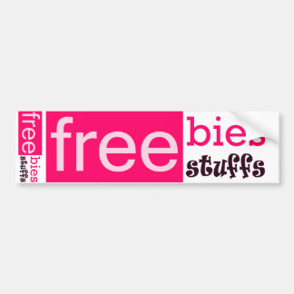 Freebies Bumper Sticker