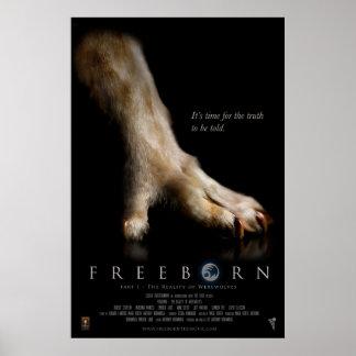 Freeborn Paw Poster