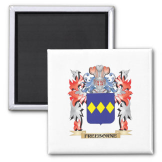 Freeborne Coat of Arms - Family Crest Magnet