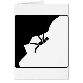 freeclimbing more climber mountain climbers climb card