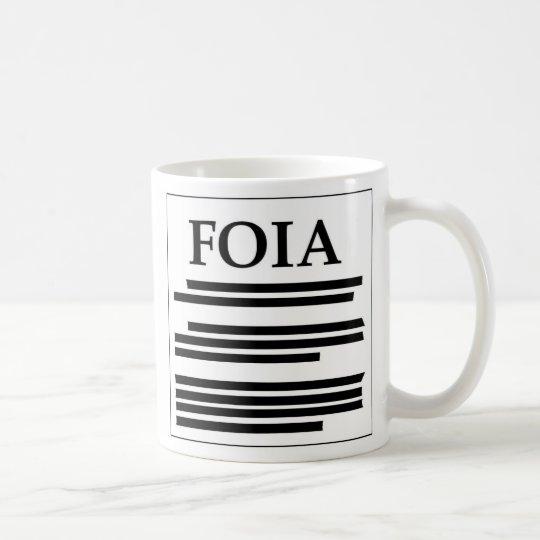 Freed of Information Act Coffee Mug