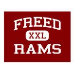 Freed - Rams - Middle School - Pueblo Colorado Post Card