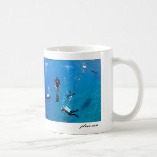 Freediver With Tek Divers Coffee Mug