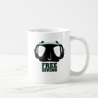 Freediving Classic White Mug