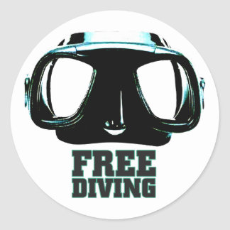 Freediving Sticker