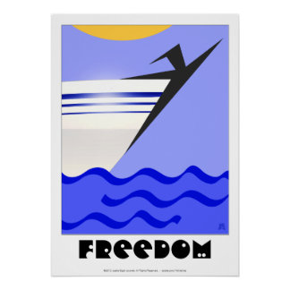 Freedom! (20x28 in.) poster
