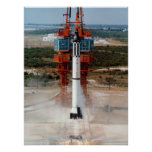 Freedom 7 (Mercury Redstone 3) Launch Poster