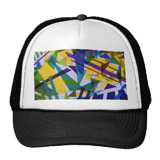 Freedom – Abstract Journey of Liberty Mesh Hat